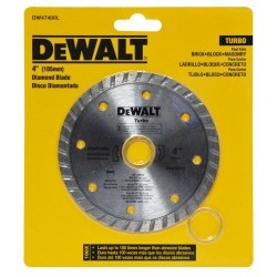 DISCO DIAMANTADO 4.1/2 TURBO DEWALT