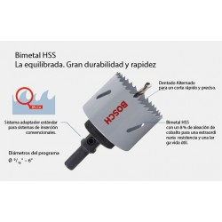 SIERRA COPA 3/4 (19mm) 8%Co BIMET BOSCH