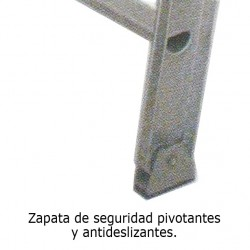 ESCALERA 14P PARED 1 CUERPO ALUM WORKER