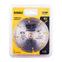 DISCO DIAMANTADO 4.1/2 SEG DEWALT