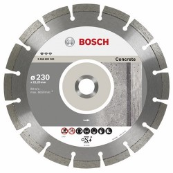DISCO DIAMANTADO 9 SEG CONCRETO BOSCH
