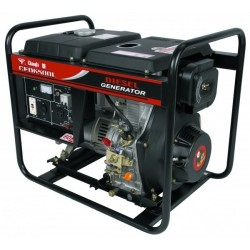 GENERADOR 4500W 110/220 VOL DIESEL WARRI